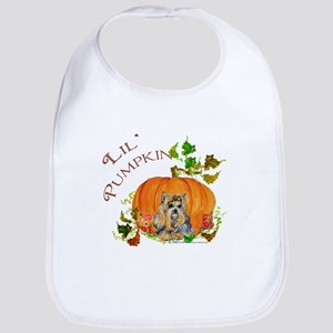 Pumpkin Yorkshire Terrier Bib