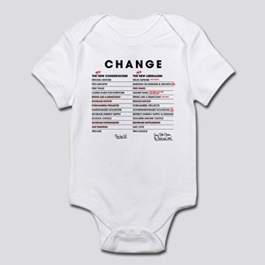 New Conservatism vs New Liberalism Infant Bodysuit
