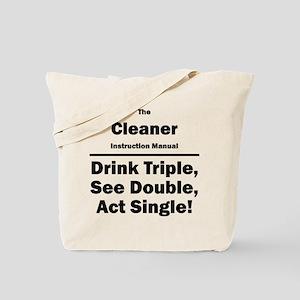Cleaner Tote Bag