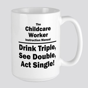 Childcare Worker Large Mug