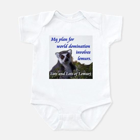 Domination Lemurs Infant Bodysuit