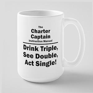 Charter Captain Large Mug