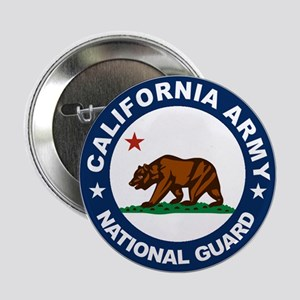 "California Army National Guar 2.25"" Button"