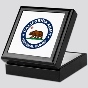 California Army National Guar Keepsake Box