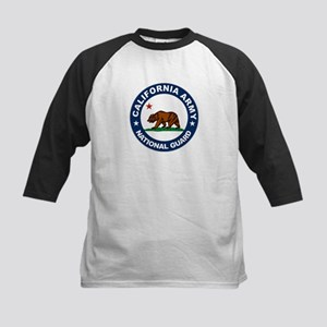California Army National Guar Kids Baseball Jersey