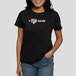 i heart sarah Women's Dark T-Shirt