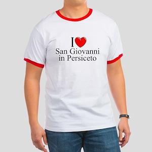 """""""I Love (Heart) San Giovanni in Persiceto"""" Ringer"""