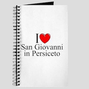 """I Love (Heart) San Giovanni in Persiceto"" Journal"