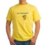 Got Chlamydia? Yellow T-Shirt