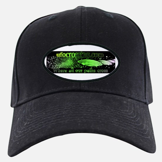 Ufo crossing, aliens, ufos Baseball Hat