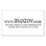 Big Guv Rectangle Sticker 50 pk)