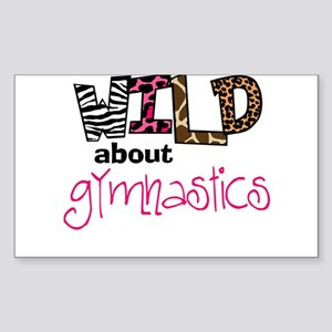 Wild about Gymnastic Sticker