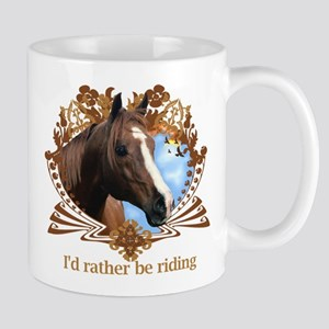 I'd Rather Be Riding Horses Mug