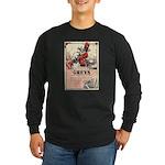 Greys Cigs Long Sleeve Dark T-Shirt