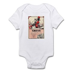 Greys Cigs Infant Bodysuit