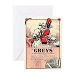 Greys Cigs Greeting Card