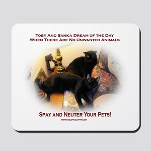Spay and Neuter Mousepad