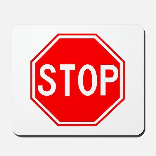 Stop Sign Mousepad
