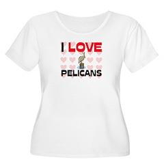 I Love Pelicans T-Shirt