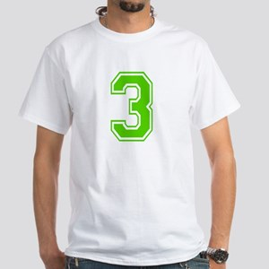 THREE White T-Shirt