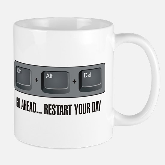 Ctrl Alt Del Mug