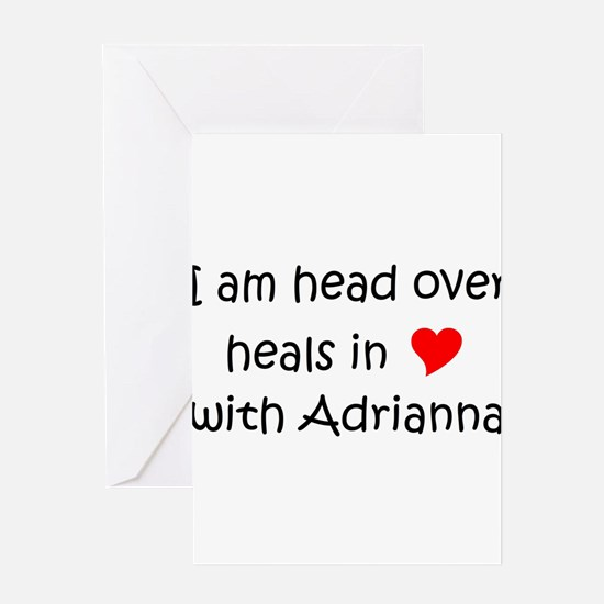 Cute Adrianna Greeting Card