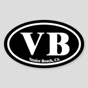 Venice Beach VB Euro Oval Oval Sticker