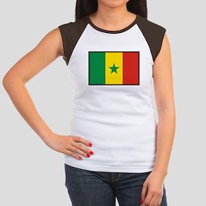 Senegal Women's Cap Sleeve T-Shirt