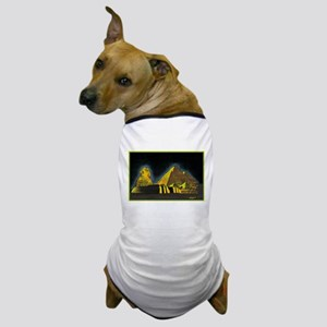 Sphinx and Pyramid Dog T-Shirt