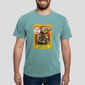 Carnival Banner Tattooed Lizard -Man T-Shirt
