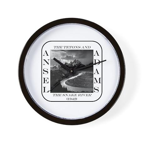 Tetons & Snake River Wall Clock