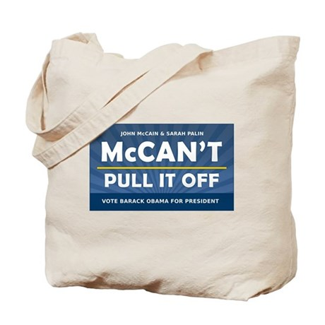 John McCain and Sarah Palin McCan't Pull It Off To