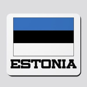 Estonia Flag Mousepad