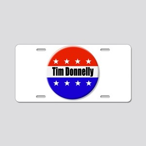 Tim Donnelly Aluminum License Plate