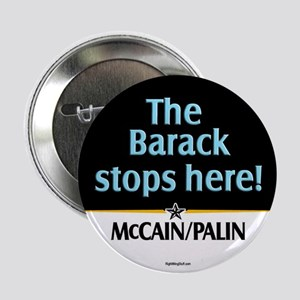 """Barack Stops Here 2.25"""" Button (10 pack)"""