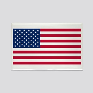 USA Flag Rectangle Magnet