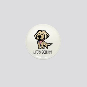 Life's Golden USA Mini Button