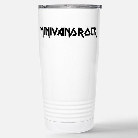 Minivans Rock Stainless Steel Travel Mug