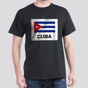 Cuba Flag Dark T-Shirt