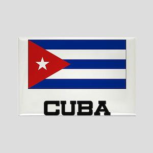 Cuba Flag Rectangle Magnet