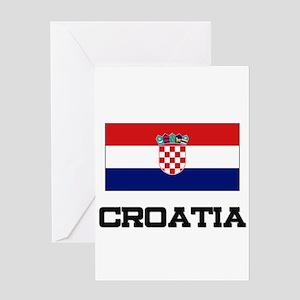 Croatia Flag Greeting Card