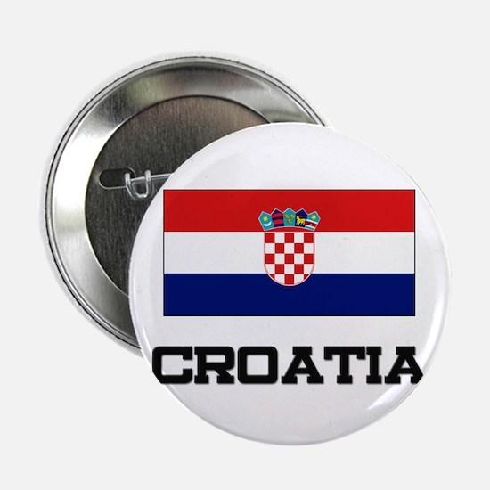 """Croatia Flag 2.25"""" Button (10 pack)"""