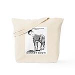 Donkey Body Tote Bag