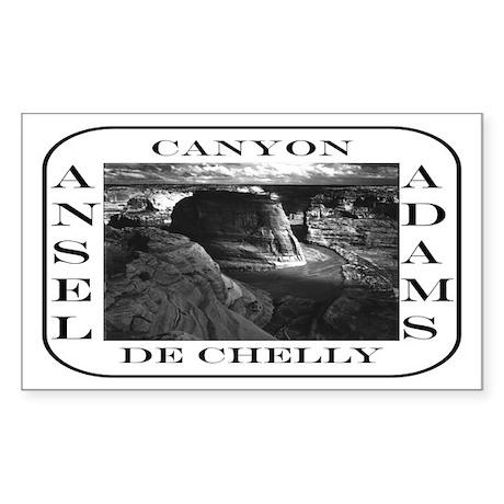 Canyon De Chelly Rectangle Sticker