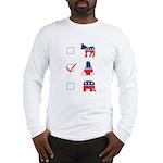 tux-dem-rep Long Sleeve T-Shirt