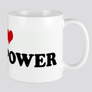 I Love WIND POWER Mug