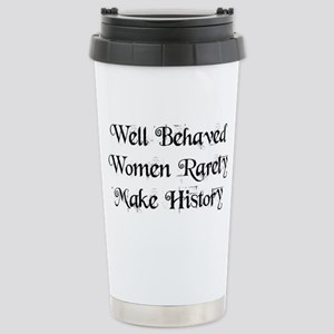 Well Behaved Wome 16 oz Stainless Steel Travel Mug