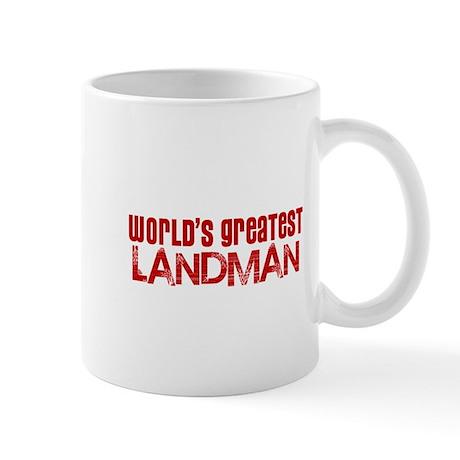 World's Greatest Landman Mug