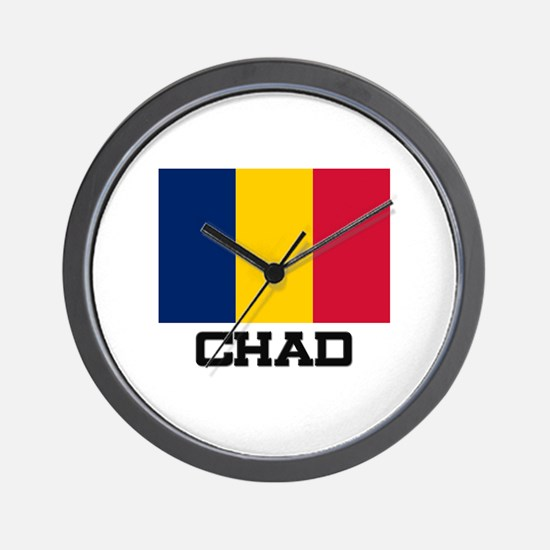 Chad Flag Wall Clock