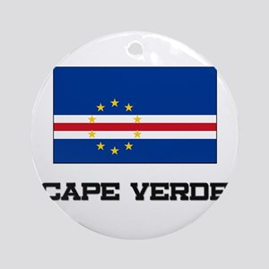 Cape Verde Flag Ornament (Round)
